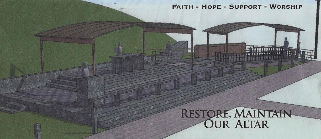 Outdoor Altar Rendering