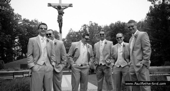Cross in the Woods Wedding