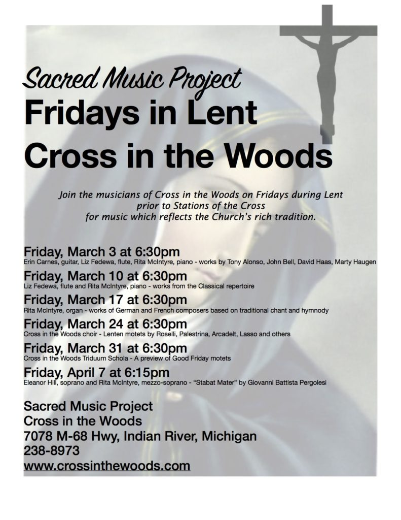 Sacred Music Project - Lent 2017