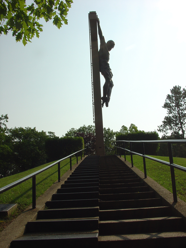 the national shrine of cross in the woods  u00bb the holy stairs
